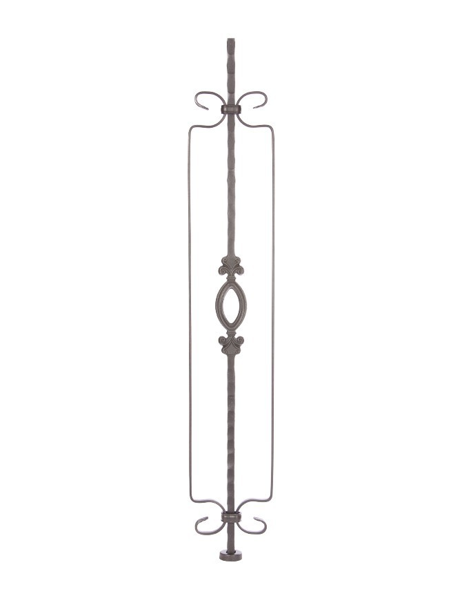 Solid forged steel stair baluster - GA SERIES - GA 036D
