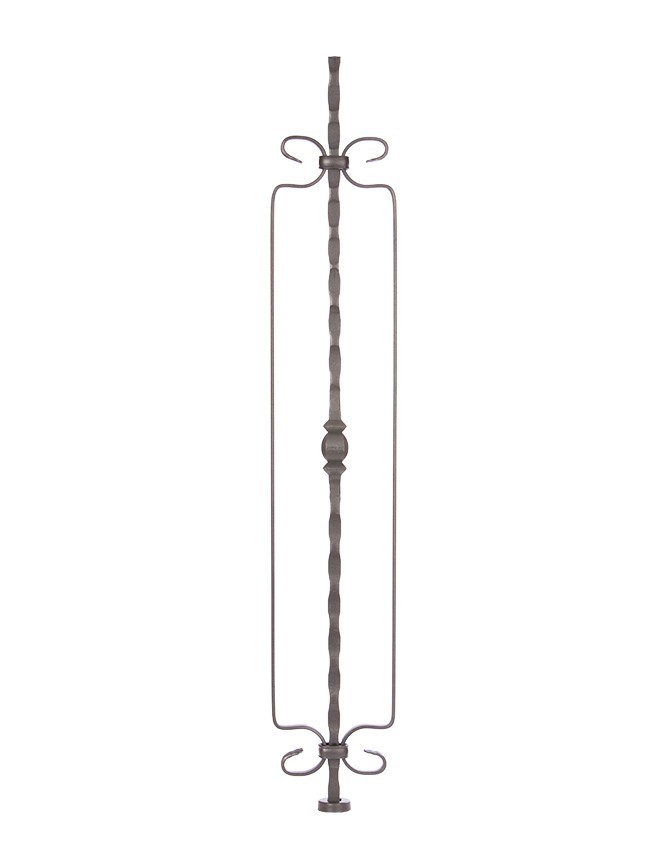 Solid Forged Steel Stair Baluster - GA SERIES - GA 045D
