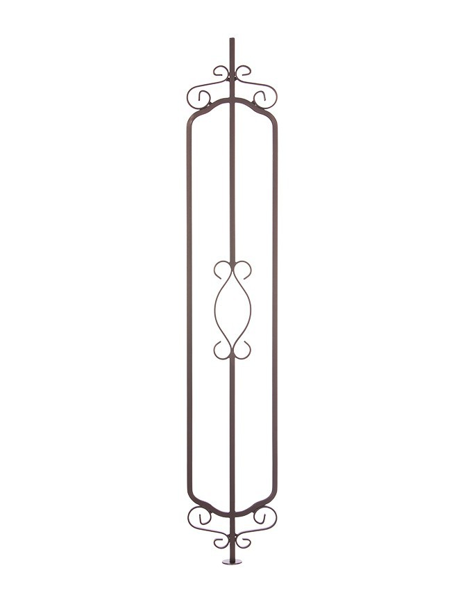 Solid Forged Steel Stair Baluster -  IN SERIES - IN 010