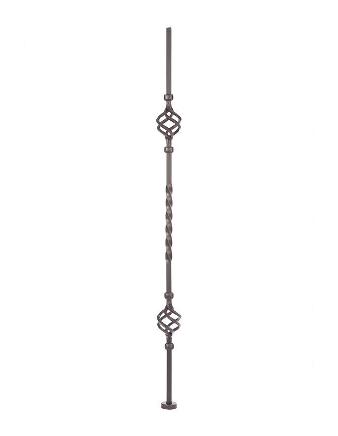 Solid Forged Steel Stair Baluster - T SERIES - T 014S-2