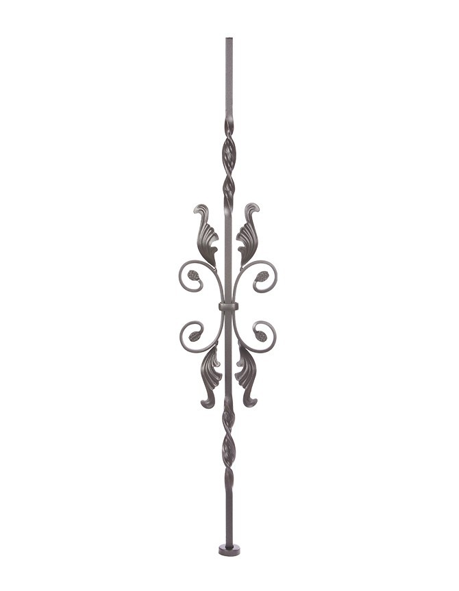 Solid Forged Steel Stair Baluster - T SERIES - T 040-2M