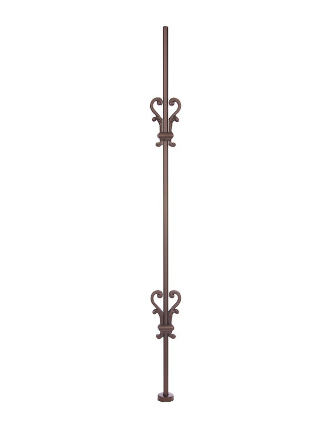 Solid Forged Steel Stair Baluster - H SERIES - H 013-2